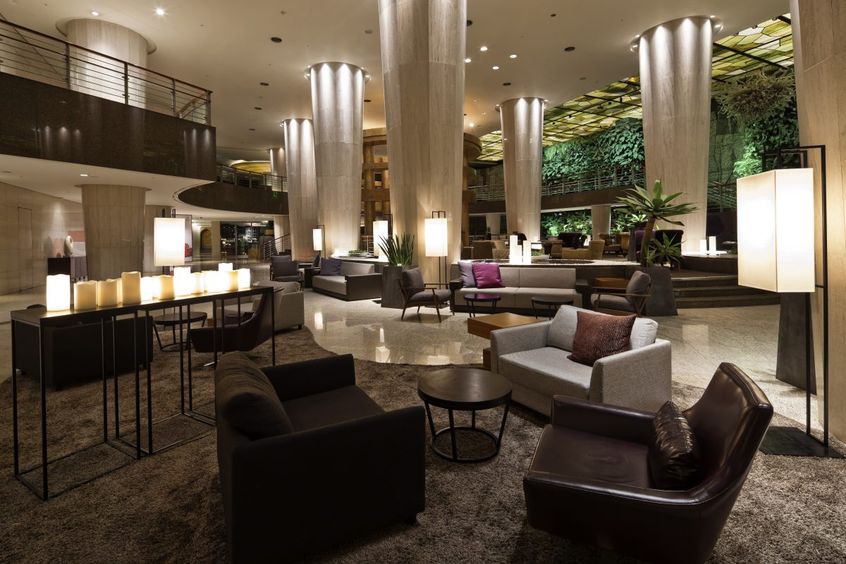The sheraton hotel lobby interior for Hotel design inn moutiers